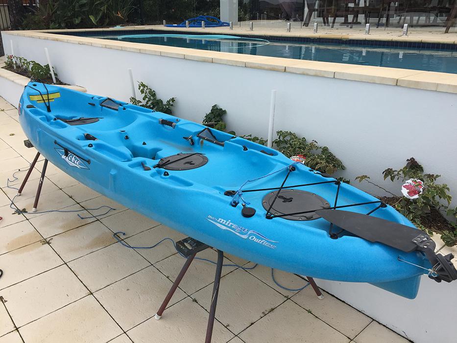 Plastic Poly Kayak repair