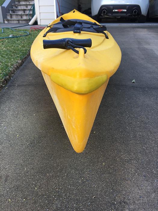 Poly Kayak repair