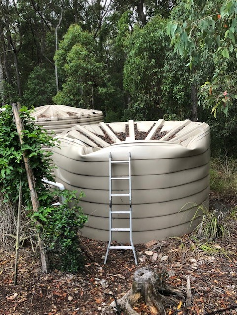 Fixing a Collapsed Water Tank Roof in Brisbane