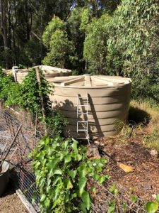 Fixing a Collapsed Water Tank Roof in Brisbane 2