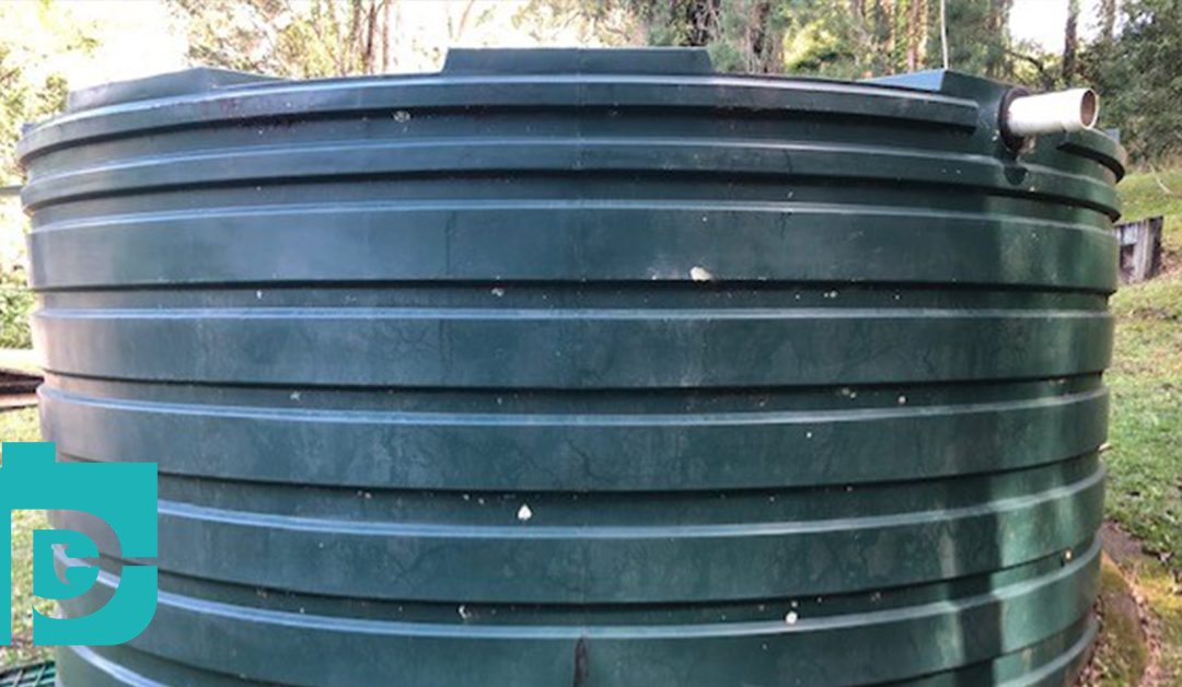 Leaking Water Tank Repaired in Kiamba