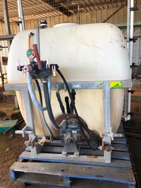 Spray Boom Tank Repair
